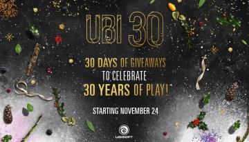 """Ubisoft Club finaliza la celebración """"30 Years of Play"""" con un fin de semana especial de juegos de PC gratis"""