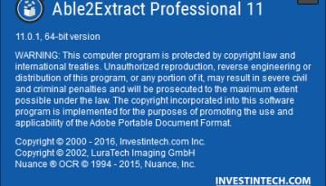 Able2Extract Professional 11, herramienta para realizar conversiones de archivos PDF sin complicaciones