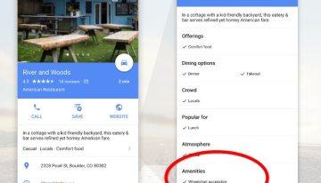 Google Maps informará los lugares que ofrecen acceso a personas con discapacidad