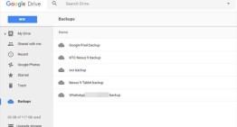 La sección de copias de seguridad llega a algunos usuarios de Google Drive