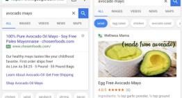 Las recetas ganan nueva forma de presentación dentro del buscador de Google