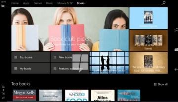 La tienda Windows prepara una nueva sección de libros