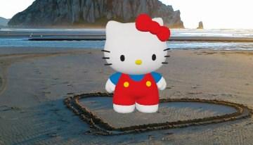 Actiongram: la nueva forma de convivir con Hello Kitty