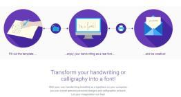 ¿Deseas que tu letra se convierta en una tipografíapara ser usada en tu PC?, Calligraphr puede ser la solución