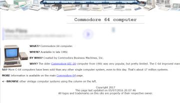oldcomputers.net, sitio web para conocer la historia de las computadoras