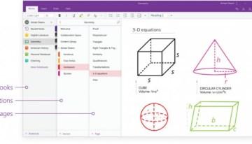 Microsoft actualiza el diseño de OneNote tornándolo más simple y con más opciones de accesibilidad