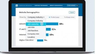 LinkedIn Website Demographics, nueva herramienta para que las empresas analicen sus presencia en web