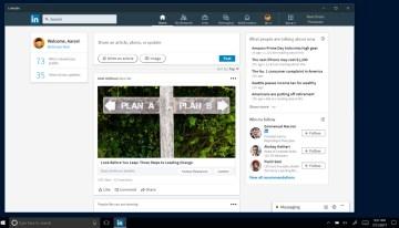 LinkedIn estrena aplicación para Windows 10