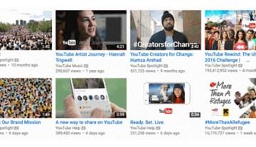 YouTube realiza mejoras en la función de vista previa de videos