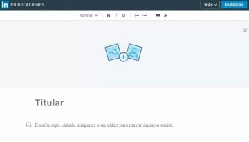 Linkedin ya ofrece su plataforma de blogs en español