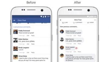 Facebook mejora la presentación de las noticias