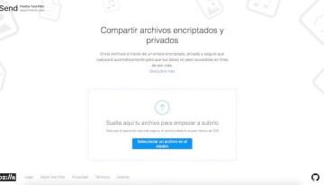 Firefox Send, herramienta gratuita para compartir archivos cifrados de hasta 1GB