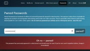 haveibeenpwned, sitio que revela si tu cuenta o password fue hackeada