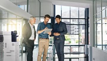 3 tendencias de flujo de trabajo en oficinas inteligente