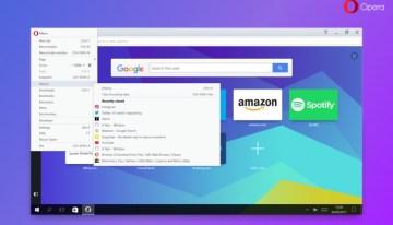 La nueva versión del navegador Opera ofrecerá un menú fácil de configurar