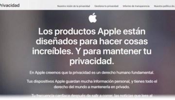 Apple lanza sitio web para ayudar a sus usuarios a gestionar su seguridad