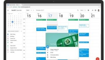 Google Calendar para web estrena nuevo diseño