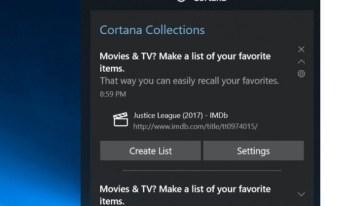 Cortana tendrá una función para administrar colecciones de imágenes