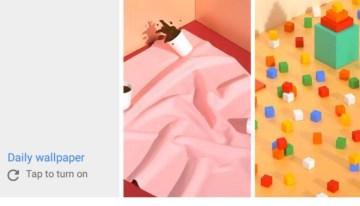 Google agrega novedades a su aplicación Wallpapers