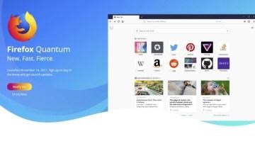 Firefox Quantum llegará el 14 de noviembre