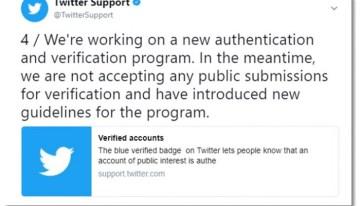 Twitter prepara un nuevo programa de verificación