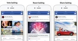 Facebook penalizará el Engagement Baiting