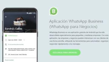 Se anuncia WhatsApp Business