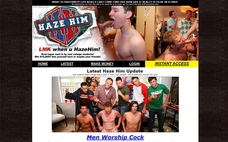 Get your Haze Him one dollar trial membership here!