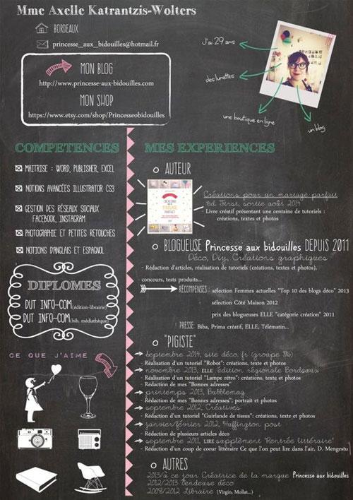 50 Simple & Creative Resume CV Design Ideas Examples