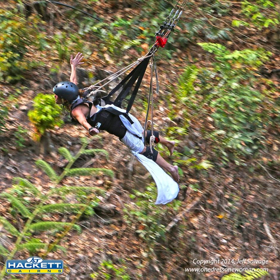 AJ Hackett Minjin swing