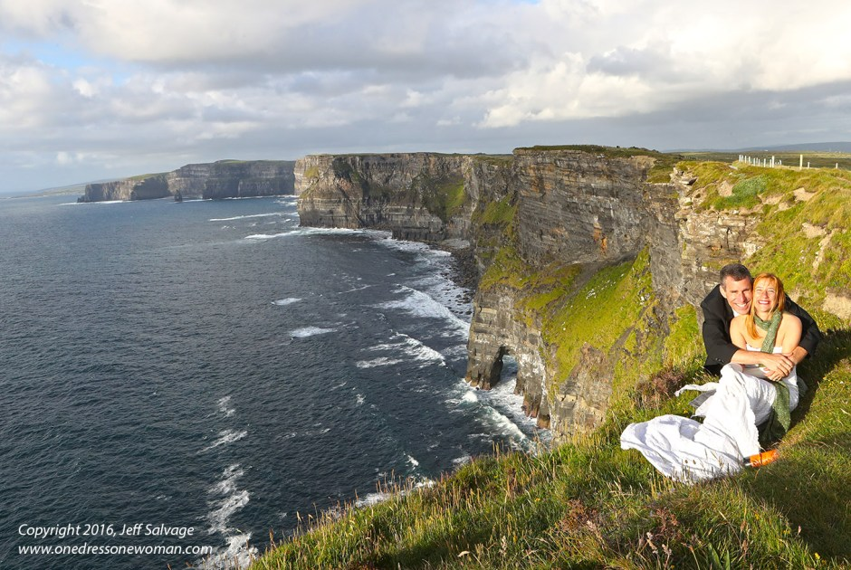 Cliffs of Moher - Jennifer and Jeff