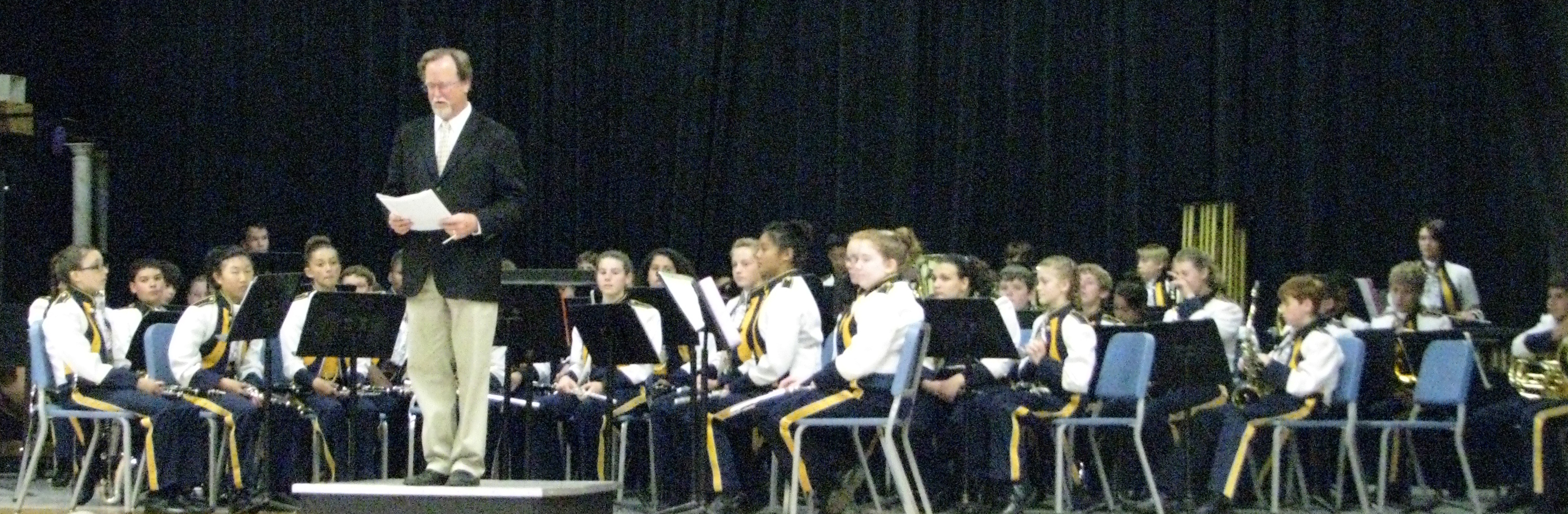 Wells Middle School Band Dominates At Foothill Band Review