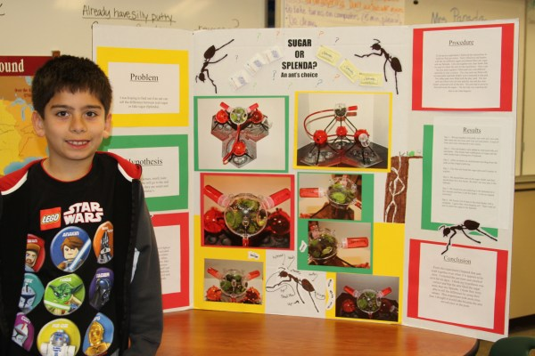 Green Elementary School Science Fair Inspires Student