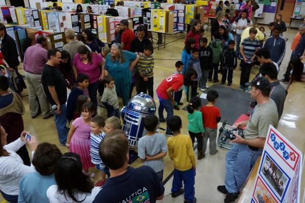 John Green Elementary School Science Fair Celebrates Stem