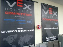 VEX Robotics Competition Awards Posters