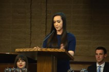 Crystal Apple Awards 2015 - Foothill High School student Sabrina Stermer