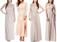 Beautiful Blush Bridesmaid Dresses  12 Fab Favourites ...