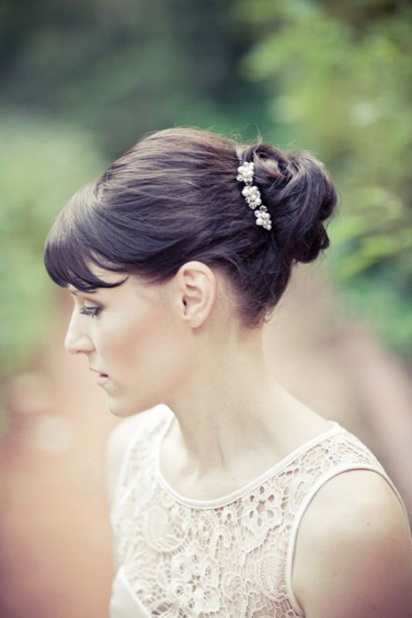 Got Bangs 5 Fringe Friendly Wedding Hairstyles