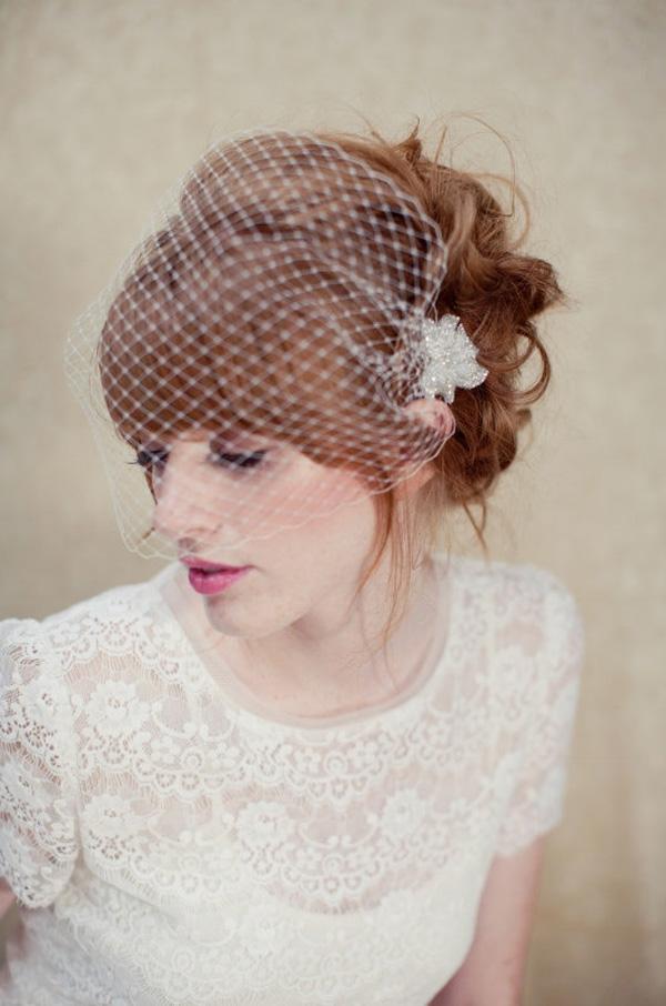 Got Bangs 5 Fringe Friendly Wedding Hairstyles  OneFabDaycom