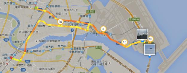 2016-07-24 2 蒲田-羽田-川崎