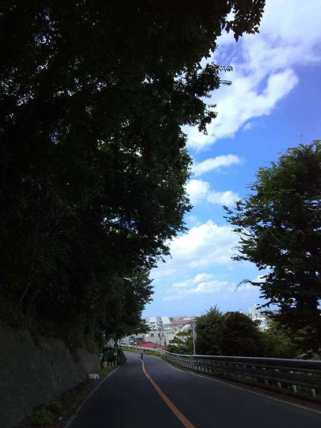 片瀬山から江ノ島へ
