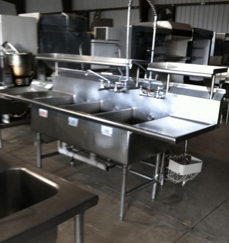 Used Three Compartment Sinks Available  Frog Technical Website