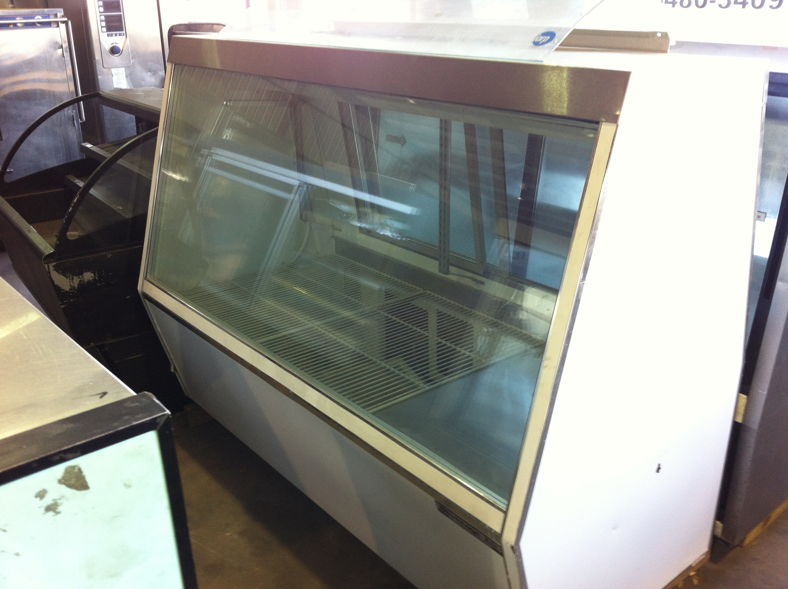 used kitchen equipment miami wall organizer fine selection of display cases on sale one fat frog