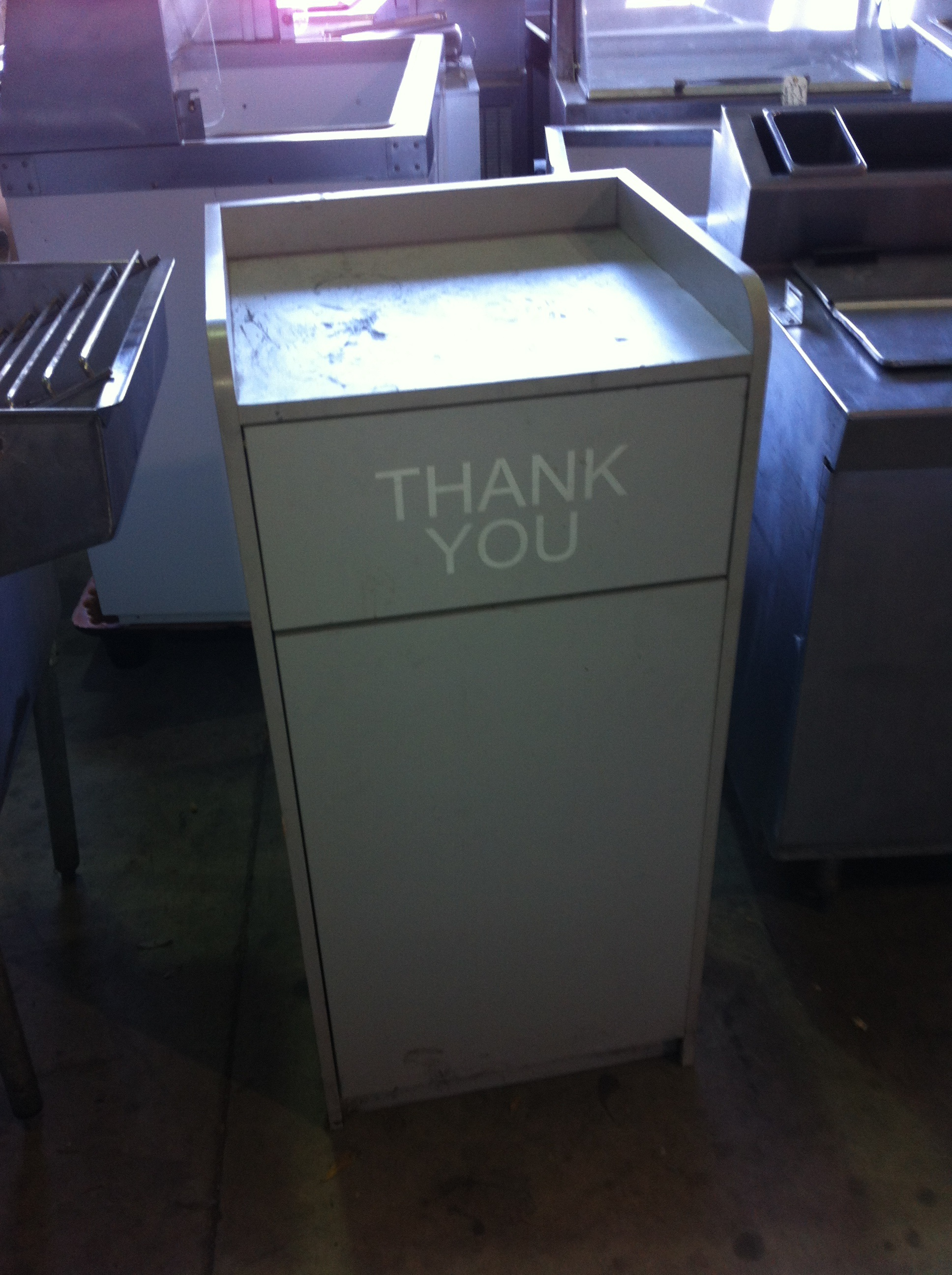 Variety of Restaurant Trash Can Covers Available  One Fat Frog