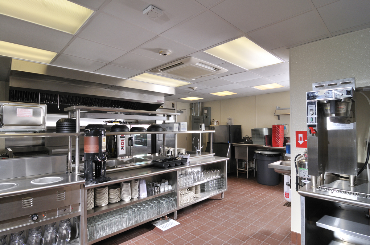 commercial kitchens white cabinets kitchen food truck start up green one fat frog