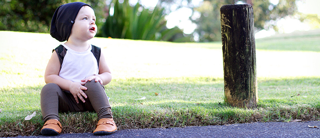 From Zion Leather Moccasins for baby and Toddler One Fine Baby Sydney Fair 3