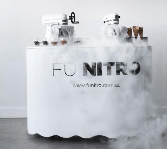 FU Nitro Liquid Nitrogen Gelato One Fine Baby 1