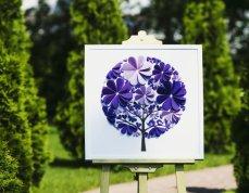 3D papír esküvői vendégkönyv 2, 3D paper wedding guest book alternative 2 Forrás:http://www.etsy.com