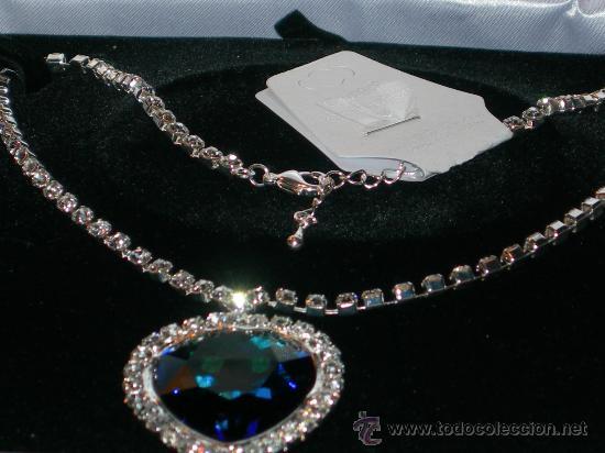 Az óceán szíve nyakék / Heart of the ocean Titanic Forrás:http://www.todocoleccion.net
