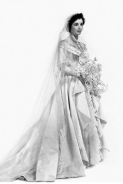 Elizabeth Taylor menyasszonyi ruhája az Örömapa című filmből / Wedding Gown worn by Elizabeth Taylor in the Father of the Bride